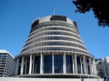 Parliament building Wellington, New Zealand