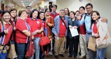 La délégation syndicale