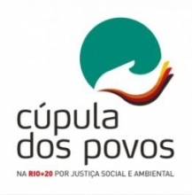 Logo for people's summit at rio+20