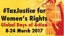 Tax justice for women's rights
