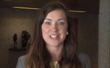Veronika Karlsson, President of VISION, Sweden