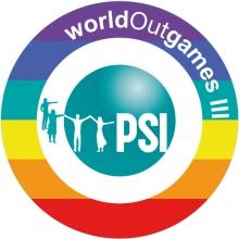 Logo PSI LGBT worldoutgames