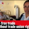 No free trade without trade union rights