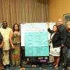 La delegación de la ISP se reúne con el Dr. Toni Lewis (en el extremo izquierdo) y afiliados de SEIU. Foto: SEIU1199